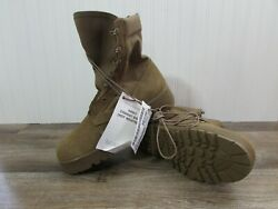 Rocky Hot Weather Menand039s Tan Desert Military Tactical Boots Coyote 798 S -10 R