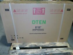 Dten Db0355 Board D7 55 Zoom Certified Led Display Built In Camera