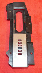 1967 1968 Mustang Gt A Cougar Xr7 Gte Orig A/t Console Shifter Indicator Plate
