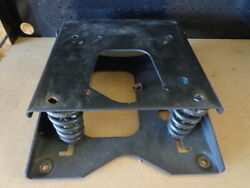 Oem Simplicity Conquest 4014 Mower Seat Bracket 1722129a And Support 1722128a Used