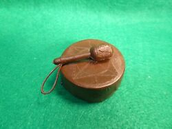 Vintage 1960s Marx Chief Cherokee Drum And Rattle Johnny West Best Of The West