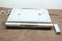 Sony Icf-cd543rm Under Cabinet Radio Cd Player With Remote Tested Works Great