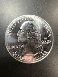 2012-p Hawaii Volcanoes America The Beautiful Atb 5 Oz Silver Coin Round