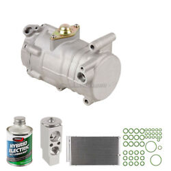 A/c Kit W/ Ac Compressor Condenser And Drier For Toyota Yaris 2004-2009