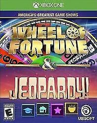 America's Greatest Game Shows Wheel Of Fortune And Jeopardy Microsoft Xbox One,