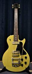 Coolz Zlj-10 S/n D150195 Yellow Electric Guitar Made In Japan With Soft Case