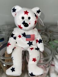 Ty Original Beanie Baby Glory - Mint Condition Super Rare With Errors