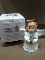 Goebel 2021 Annual Angel Bell Color-specially Painted 44th Edt Brand New Mib