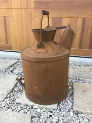 Vintage Antique 5 Gallon Standard Oil Co Can Indiana Gas Service Station