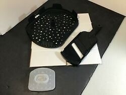 Epicure Black Chipster And Ceramic Slicer See Pictures