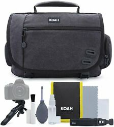 Koah Tillary Messenger Camera Bag with Accessory and Cleaning Kit $20.99