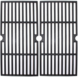Bbq Cast Iron Grill Cooking Grates 17 2-pack For Charbroil Char-broil 463633316