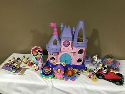 Fisher Price Little People Disney Princess Songs Castle Tons Of Extras