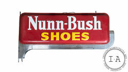 Antique Nuun-bush Shoes Double-sided Lighted Sign