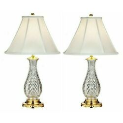 Waterford Crystal Ashbrooke 2 Table Lamp 27