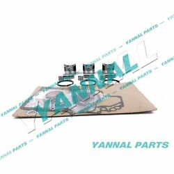 New Std 3tn100 Engine Overhaul Kit With Piston Rings Cylinder Gaskets For Yanmar