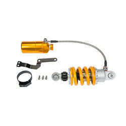 205mm 8.07 Motorcycle Rear Shock Absorber Round Hole Yellow Fit Harley Suzuki