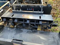 New Skid Steer Loader 72 Roto Tiller Hydraulic Rotary Garden Quick Attach 6and039