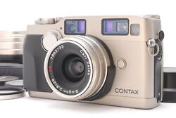 Contax G2 Rangefinder Film Camera Body 45mm 28mm Lens Set From Japan E583