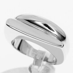Fred Fred Success Ring Small Model K18 750 Wg White Gold Japan Size About No