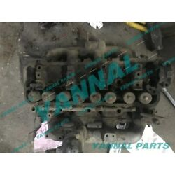 Used 4fe1 Complete Cylinder Head Assy With Valves For Isuzu