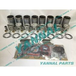 New Rd8 Overhaul Kit With Cylinder Gasket Bearings For Nissan