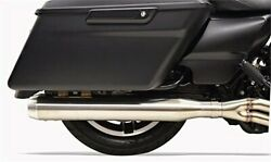 Bassani Long Road Rage Iii Stainless 2-into-1 Exhaust System 1f18ss