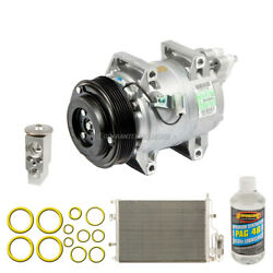 For Volvo V70 And Xc70 2001-2005 Oem Ac Compressor W/ Condenser Drier Csw