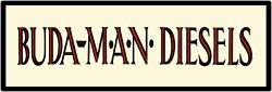 Buda Man Diesel Engines Metal Sign - 12 X 36 Usa Steel Xl Size - 4 Pounds