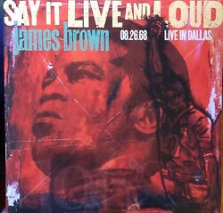 James Brown - Say It Live And Loud - Live Dallas 1968 /2018 Republic Records 2 Lps