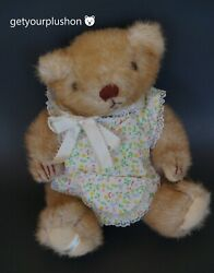 Gorham 1984 Bear Of The Month Marmalade Maybear Brown Bear With Outfit