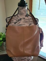 COACH Leather Shoulder Bag Cross body F15064 Convertible Adjustable Strap GUC $45.00