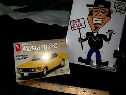 Ertl 1969 Mustang 2+2 1/43 Model Easy Snap Assembly 1989 Kay Bee Toys Sealedand039