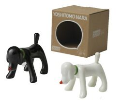 Yoshitomo Nara Life Is Only One Shinning Doggy Figure Black And White - Limited