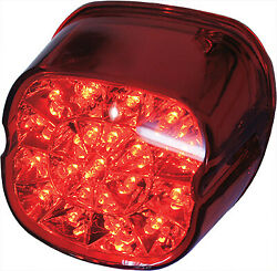 Harddrive L24-0433drled Laydown Led Taillight Red Lens