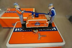 1900-2000 Lionel Trains Schylling Collectorand039s Series Wind-up Hand Car Key Coa