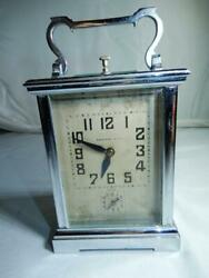 Antique Repeater Alarm Carriage Clock By E Couaillet France 11 Jewels
