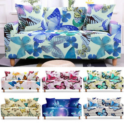 Butterfly Sofa Cover For Living Room Corner Slipcovers Sectional L -shape Cover
