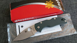 2013 Spyderco Forum Knife Native 5 C41gpgr5 Rare Discontinued