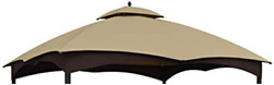 Replacement Canopy Top Beige For Lowes Allen Roth 10x12 Gazebo Gf-12s004b-1