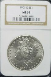1901-o Morgan Dollar Ngc Ms64  Dollar Prices Are Going Up