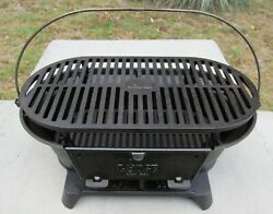 Lodge Sportsmanand039s Cast Iron Grill Bbq Outdoors Portable Made In Usa Hibachi