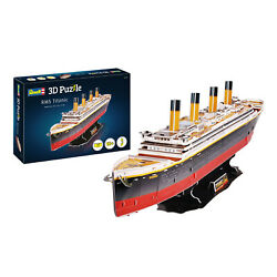 3d Jigsaw Puzzle Rms Titanic Passenger Ship Model By Revell
