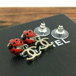It Is Pretty Piercing Of Coco Mark To Ladybug Engraved 04 With Box