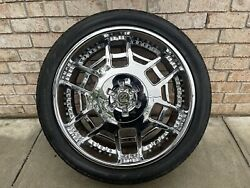 22 In Rims And Tires