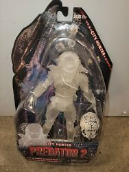 2012 Sdcc Predator 2 7and039and039 Cloaked City Hunter Exclusive Neca New
