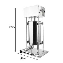 From Cn Delivery 15l Vertical Sausage Stuffer 2 Speed Filler Meat Maker Machine