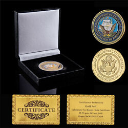 Department Of The Navy Washington D.c Great Seal Of Usa Challenge Coin