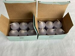 Lot Of 12 New Partylite Hydrangea Votive Candles New Floral V06061