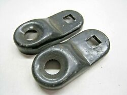 Original 1940and039s Fog Light Mounts Or Brackets Accessory Parts Car Or Truck Nos Oe